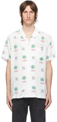 Wacko Maria White High Times Edition Pot Leaf Shirt