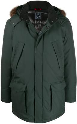 Fay hooded padded jacket