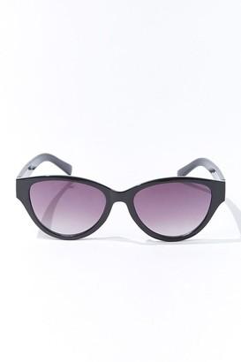 Forever 21 Tortoiseshell Oval Gradient Sunglasses