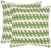 Safavieh Linos Set Of Two Decorative Pillows