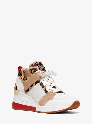 Michael Kors Leopard Sneakers   Shop