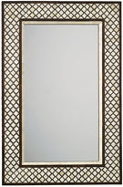Jamie Young Mughal Bone Wall Mirror, Camel/Chocolate