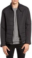 Andrew Marc Men's York Water Resistant Quilted Moto Jacket