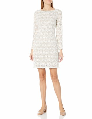 Jessica Howard JessicaHoward Women's Lace Shift with Sequins