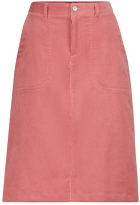 A.P.C. Jennie corduroy midi skirt