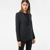 Paul Smith A Suit To Travel In - Women's Black Two-Button Wool Blazer