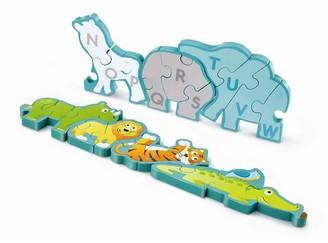 Hape Alphabet & Animal Parade Puzzle