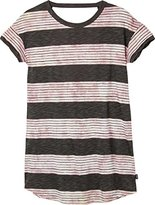 RVCA Junior's Creston Stripe Shirt Dress