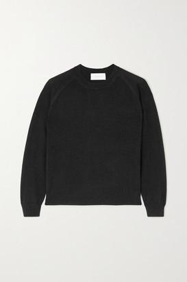 Mila Louise Alexandra Golovanoff Metallic Cashmere-blend Sweater - Black