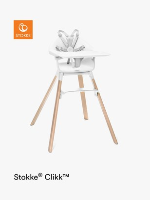 Stokke Clikk Highchair, White