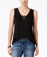 Sanctuary Serene Lace-Up Tank Top
