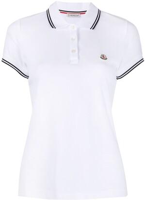 Moncler Cotton Short-Sleeve Polo Shirt