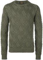 Tod's diamond knit jumper