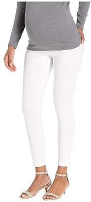 Hue Ultra Soft Denim Maternity Skimmer (Deep Indigo Wash) Women's Jeans