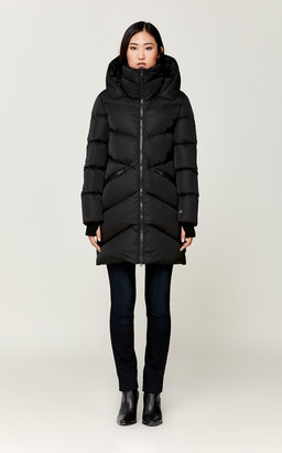 Soia & Kyo WENDELLE water-repellent straight-fit sporty down coat