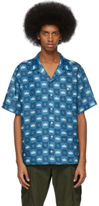 Dolce & Gabbana Blue Crown Shirt