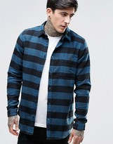 Dr Denim Chris Check Slim Fit Shirt