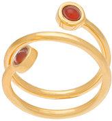 Lizzie Fortunato spiral ring