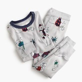 J.Crew Kids' pajama set in cozy beasts