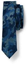 Classic Boys Novelty Jacquard Necktie-Capri Seas Multi Check