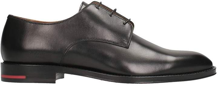 Givenchy Black Leather Rider Derby