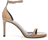 Saint Laurent Patent Leather Jane Sandals