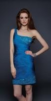 Lara Dresses - 21593 in Blue