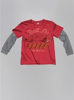 Junk Food Clothing Kids Boys Ford Mustang Longsleeve Tee-rooster/classic Grey-m