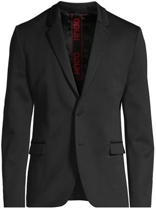 HUGO Arlido Slim-Fit Single-Breasted Jacket