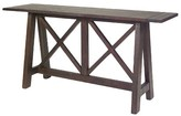 Progressive Vineyard Console Table - Distressed Root Beer Furniture