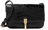 Elizabeth and James Cynnie micro croc-effect leather shoulder bag