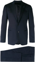 Lardini two-button suit - men - Silk/Cotton/Cupro/Wool - 46