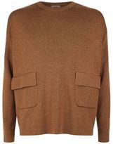 Valentino Patch Pocket Wool Sweater