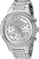 GUESS GUESS? Women's U0850L1 Analog Display Quartz Silver Watch
