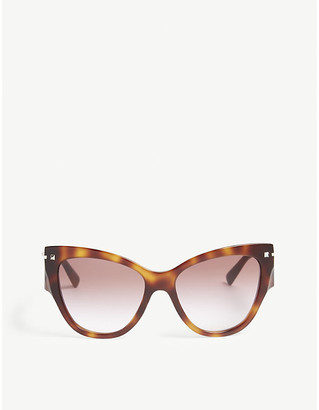 Valentino VA4028 cat-eye-frame sunglasses