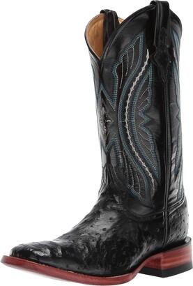 Ferrini Men's Full Quill Ostrich Western Boot