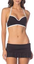 Kenneth Cole Reaction Halterneck Push-Up Bikini Top