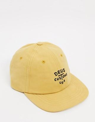 Deus Ex Machina Rolan cap in yellow
