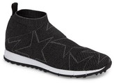 Jimmy Choo Men's Norway High Top Sock Sneaker