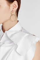 Delfina Delettrez 18kt Yellow Gold Lips Earring with Rubies