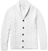 Richard James - Cable-knit Wool Cardigan