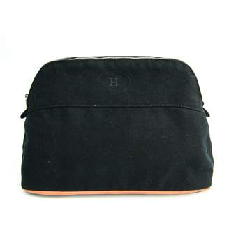 Hermes Bolide Black Cloth Travel bags