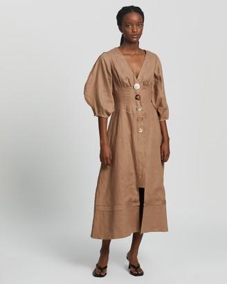 Rachel Gilbert Capri Maxi Dress