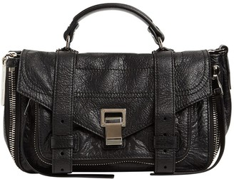 Proenza Schouler Ps1 Tiny Zipped Leather Top Handle Bag