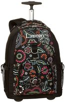 PBteen Gear-Up Light Bright Floral Rolling Backpack