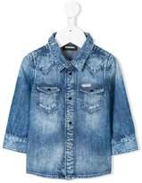 Diesel long-sleeve denim shirt