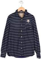 Scotch & Soda Boys' Striped Long Sleeve Shirt