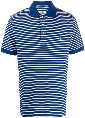 Vivienne Westwood Orb Logo Embroidered Polo Shirt