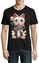 Dom Rebel Lucky Cat Cotton Tee