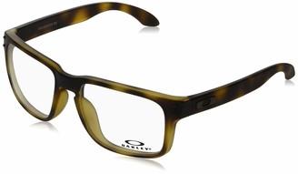 Oakley Men's Ox8156 Holbrook Rx Square Eyeglass Frames Prescription Eyewear